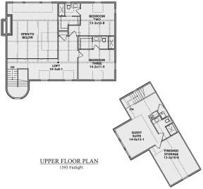 Second Floor for House Plan #5631-00084