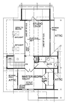 Floorplan 2 for House Plan #4177-00014