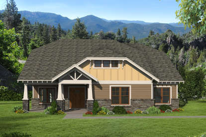 3 Bed, 2 Bath, 2304 Square Foot House Plan - #940-00093