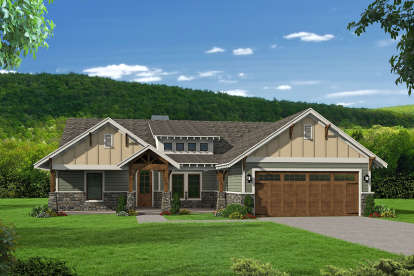 3 Bed, 2 Bath, 2095 Square Foot House Plan - #940-00095