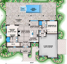 Main Floor for House Plan #1018-00282