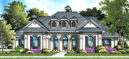 3 Bed, 2 Bath, 2328 Square Foot House Plan - #048-00155