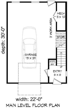 Garage Level for House Plan #940-00097