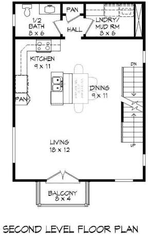 2nd Floor for House Plan #940-00097