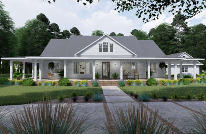 3 Bed, 2 Bath, 2748 Square Foot House Plan #9401-00095