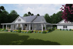 Country House Plan #9401-00095 Elevation Photo
