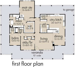 Main Level for House Plan #9401-00095