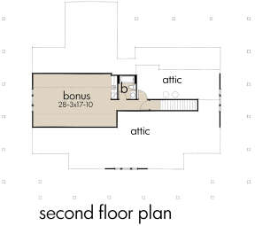 Bonus Room for House Plan #9401-00095