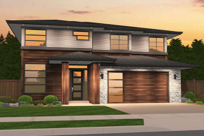 5 Bed, 2 Bath, 2980 Square Foot House Plan - #1022-00003