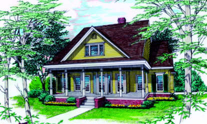 3 Bed, 3 Bath, 2542 Square Foot House Plan - #048-00156