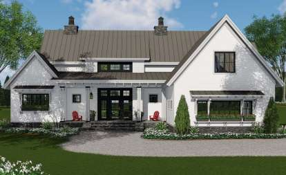 3 Bed, 2 Bath, 2125 Square Foot House Plan #098-00303