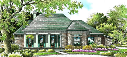 3 Bed, 2 Bath, 2503 Square Foot House Plan - #048-00157