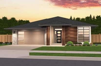 3 Bed, 2 Bath, 1853 Square Foot House Plan - #1022-00008