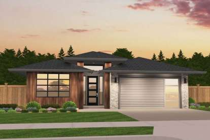 3 Bed, 2 Bath, 1607 Square Foot House Plan - #1022-00009