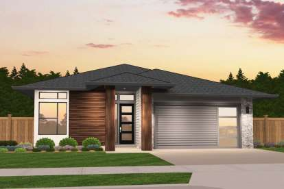 3 Bed, 2 Bath, 1852 Square Foot House Plan - #1022-00010