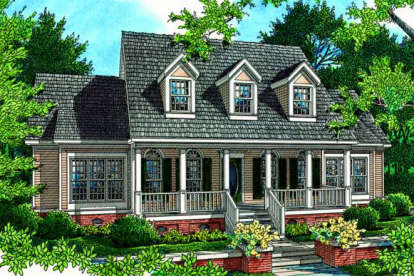 4 Bed, 3 Bath, 2535 Square Foot House Plan - #048-00161