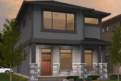 3 Bed, 2 Bath, 2035 Square Foot House Plan - #1022-00044