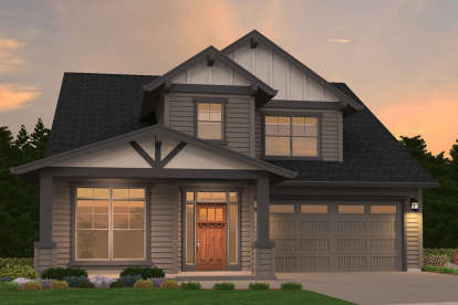 4 Bed, 2 Bath, 2627 Square Foot House Plan - #1022-00046