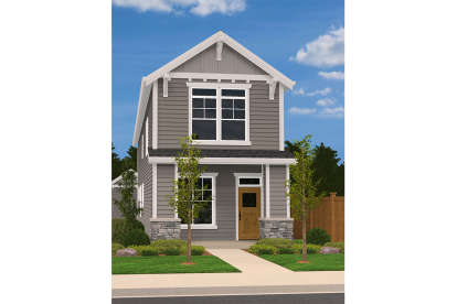 3 Bed, 2 Bath, 1826 Square Foot House Plan - #1022-00084