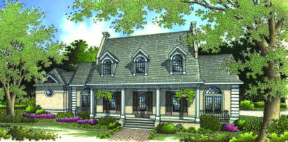 4 Bed, 3 Bath, 2680 Square Foot House Plan - #048-00165