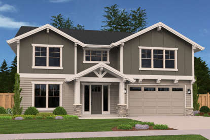4 Bed, 3 Bath, 2762 Square Foot House Plan - #1022-00101
