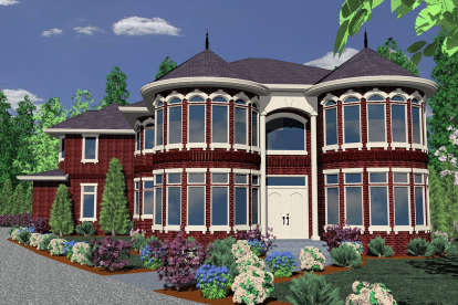 6 Bed, 5 Bath, 4777 Square Foot House Plan - #1022-00109