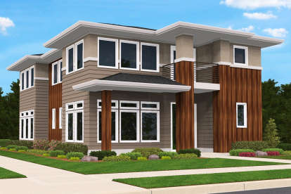 3 Bed, 3 Bath, 2537 Square Foot House Plan - #1022-00110