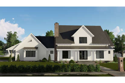 3 Bed, 2 Bath, 2334 Square Foot House Plan - #963-00163