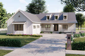 Modern Farmhouse House Plan #963-00171 Elevation Photo