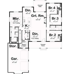 Main Floor for House Plan #963-00171