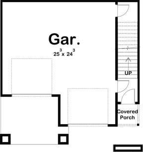 Garage for House Plan #963-00206