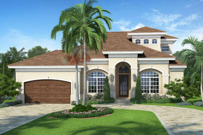 5 Bed, 4 Bath, 2716 Square Foot House Plan - #5565-00020