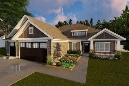 3 Bed, 2 Bath, 1932 Square Foot House Plan - #963-00280