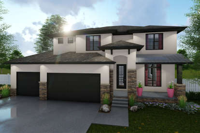 3 Bed, 2 Bath, 2251 Square Foot House Plan #963-00316