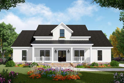 3 Bed, 2 Bath, 2107 Square Foot House Plan - #348-00279