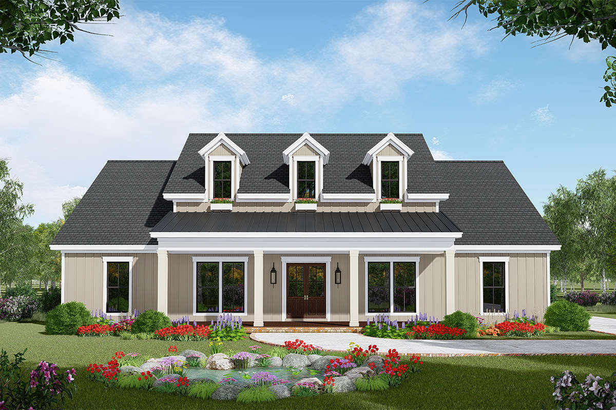 Modern Farmhouse Plan 2 107 Square Feet 3 4 Bedrooms 2