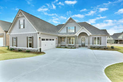 4 Bed, 3 Bath, 2485 Square Foot House Plan #6082-00139
