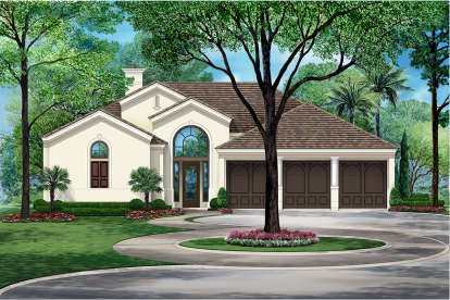 3 Bed, 3 Bath, 2836 Square Foot House Plan - #5445-00333