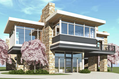 4 Bed, 5 Bath, 8251 Square Foot House Plan #028-00126