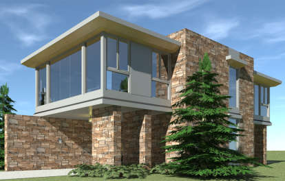 1 Bed, 1 Bath, 1497 Square Foot House Plan - #028-00133