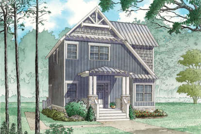 3 Bed, 2 Bath, 1706 Square Foot House Plan - #8318-00084