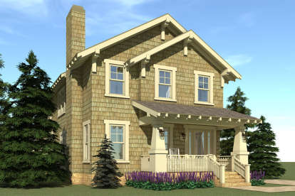 3 Bed, 2 Bath, 3117 Square Foot House Plan - #028-00036