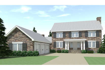 4 Bed, 3 Bath, 3722 Square Foot House Plan - #028-00158