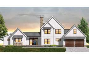 Modern Farmhouse House Plan #8504-00123 Elevation Photo