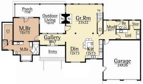 Main Floor for House Plan #8504-00123