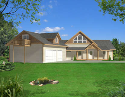 4 Bed, 3 Bath, 4104 Square Foot House Plan - #039-00521