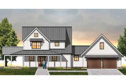 3 Bed, 2 Bath, 2270 Square Foot House Plan - #8504-00128