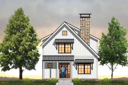 3 Bed, 3 Bath, 1560 Square Foot House Plan - #8504-00135