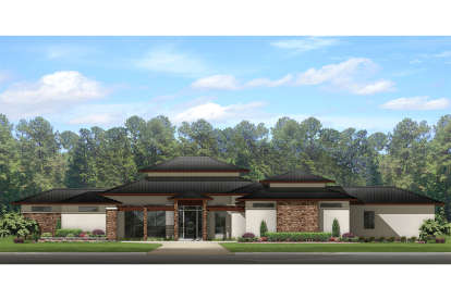 4 Bed, 3 Bath, 3541 Square Foot House Plan - #3978-00056