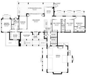 Main Floor  for House Plan #3978-00056